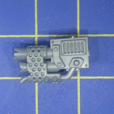Wh40k Ork Flash Gitz Snazzgun Back Piece F