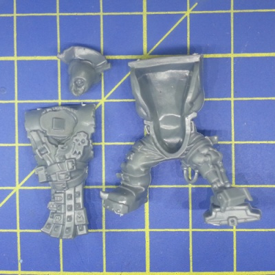 Wh40k Ork Flash Gitz Body D