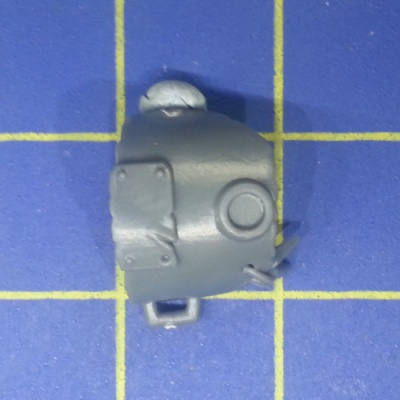 Wh40k Ork Flash Gitz Shoulder Pad C