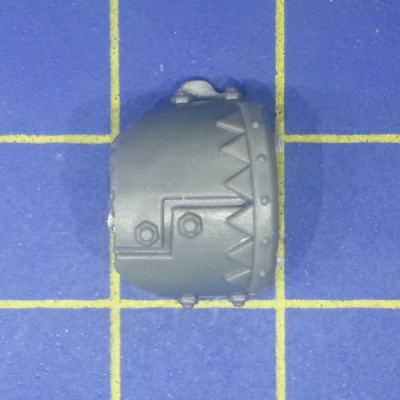 Wh40k Ork Flash Gitz Shoulder Pad I