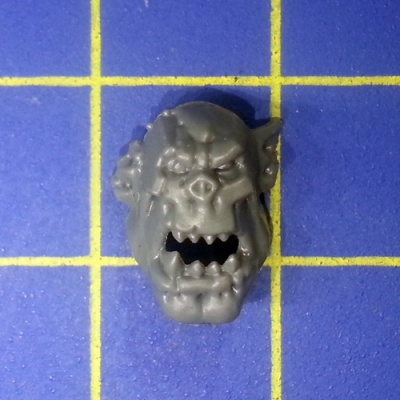 Wh40k Ork Flash Gitz Head C