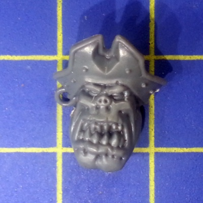 Wh40k Ork Flash Gitz Head I