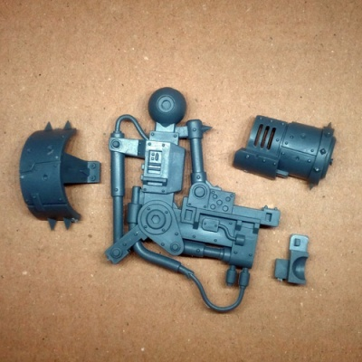 Orks Deff Dread Upper Arm Right