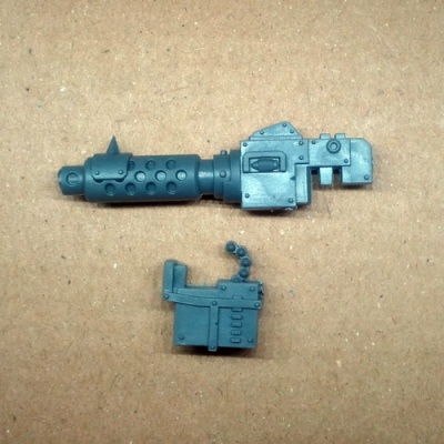 Orks Deff Dread Big Shoota Left