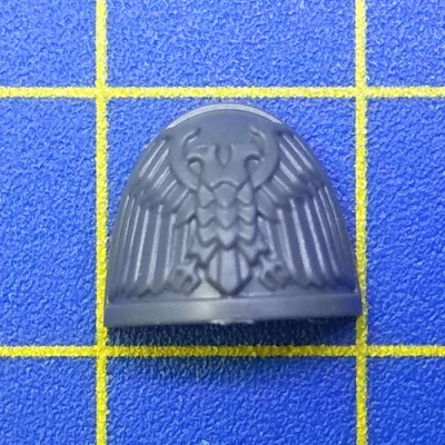 Wh40k SM Primaris Captain Shoulder Pad B