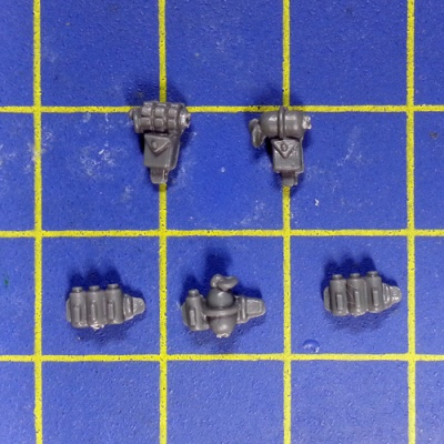 Wh40k SM Scouts with Sniper Rifles Accessories x5