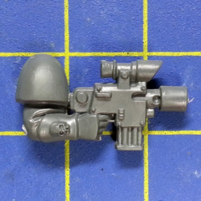 Wh40k SM Scouts Arm with Bolt Pistol