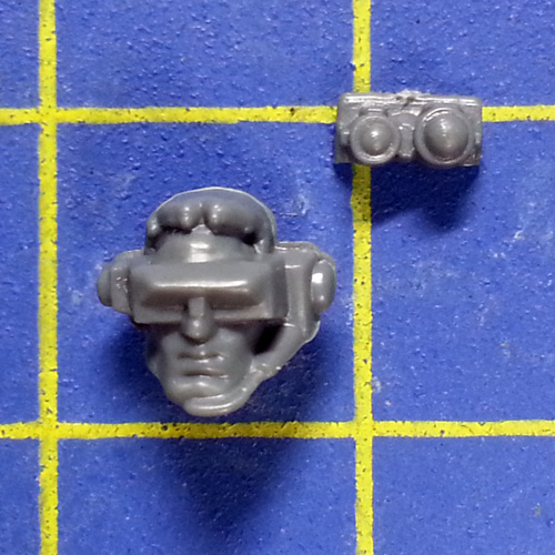 Wh40k SM Scouts with Sniper Rifles Head B