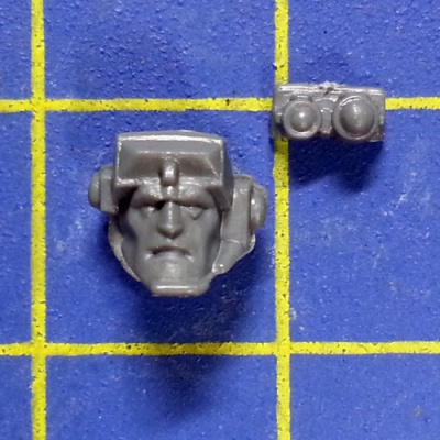 Wh40k SM Scouts with Sniper Rifles Head C