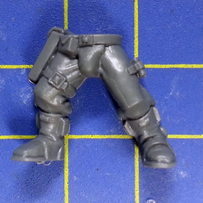 Wh40k SM Scouts with Sniper Rifles Legs A