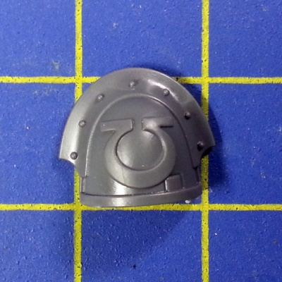 Wh40k SM Ultramarines Upgrades Shoulder Pad B