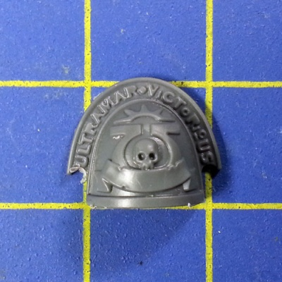 Wh40k SM Ultramarines Upgrades Shoulder Pad C