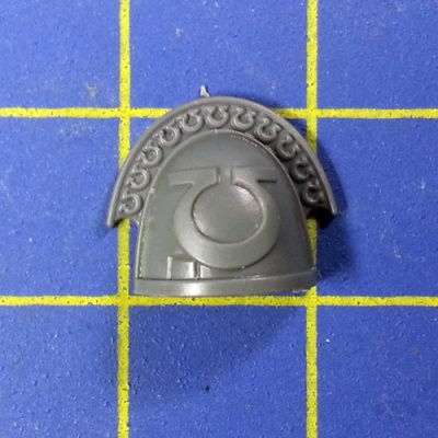 Wh40k SM Ultramarines Upgrades Shoulder Pad D