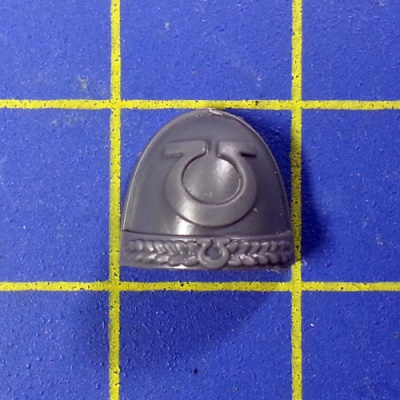 Wh40k SM Ultramarines Upgrades Shoulder Pad F