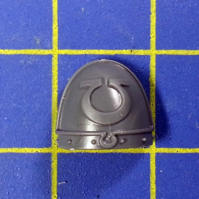Wh40k SM Ultramarines Upgrades Shoulder Pad I