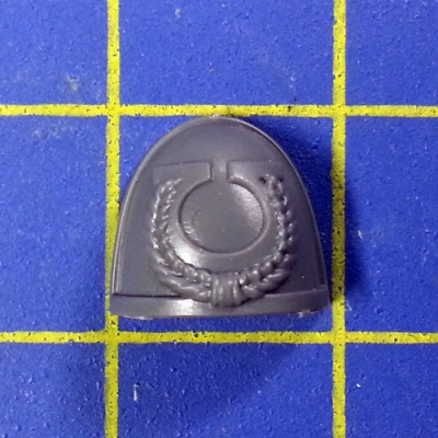 Wh40k SM Ultramarines Upgrades Shoulder Pad J
