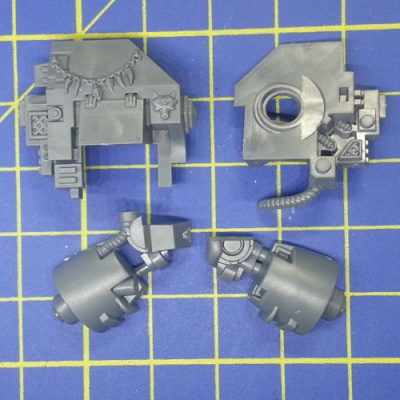 Wh40k SW Dreadnought Right Arm