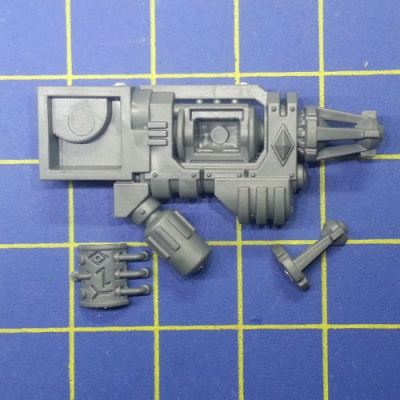 Wh40k SW Dreadnought Cannone Gelo Infernale