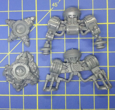 Wh40k SW Dreadnought Gambe