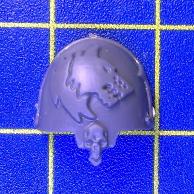 Wh40k SW Wolf Guard Terminators Shoulder Pad G