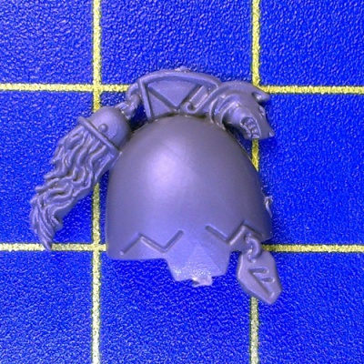 Wh40k SW Wolf Guard Terminators Shoulder Pad H