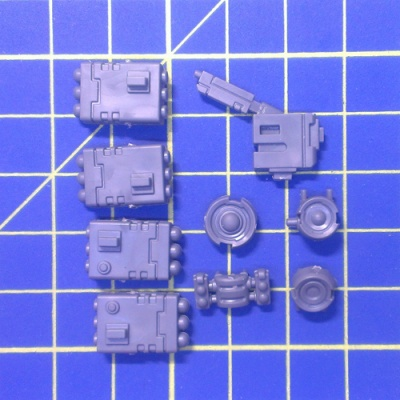 Wh40k Tau XV88 Broadside Support System Twin-Linked Smart Missile System