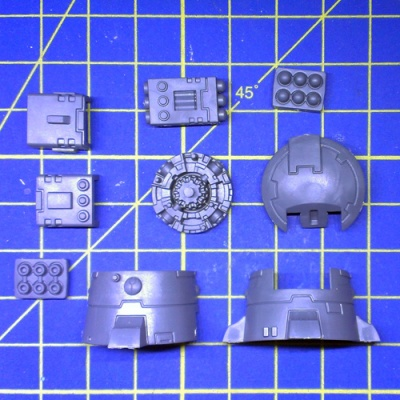Wh40k Tau Fire Warriors Warriors DS8 Support Turret