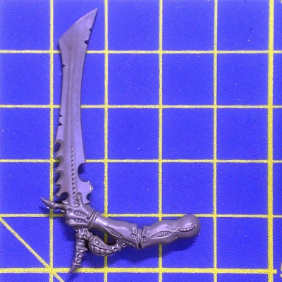 Wh40k Tyranid Warriors Bone Sword Left A