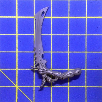 Wh40k Tyranid Warriors Bone Sword Left B