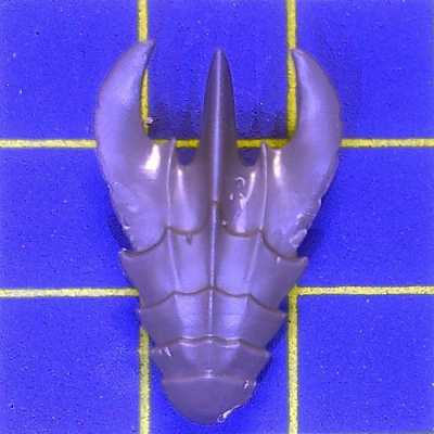 Wh40k Tyranid Warriors Head Plate B