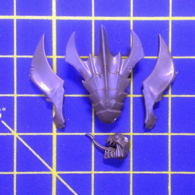 Wh40k Tyranid Warriors Tyranid Prime Head