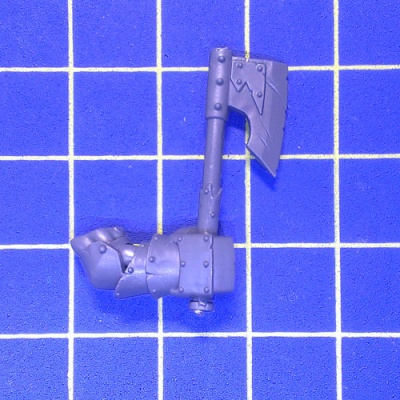 WhFB O&G Black Orcs One Hand Weapon Right C