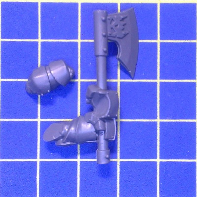 WhFB O&G Black Orcs Great Weapon C