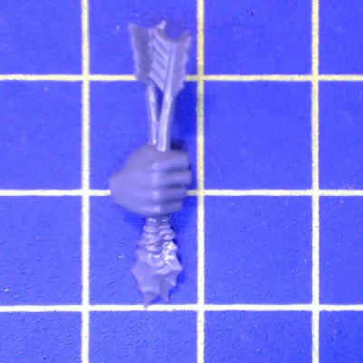 WhFB O&G Savage Orcs Arrows Hand Right