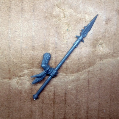 Lizardmen Saurus Cavalry Spear D
