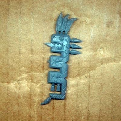 Lizardmen Saurus Warriors Banner A