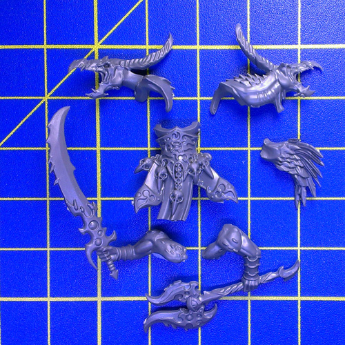 WhAoS Tzeentch Arcanites Tzaangors Body C Mutant Parts